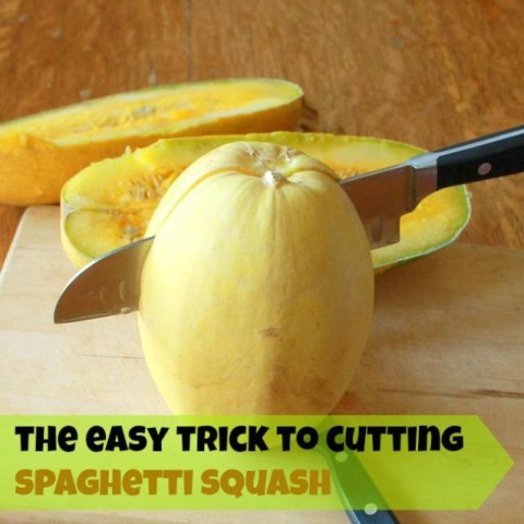 #HealthyKitchenHacks: How to Easily Cut Spaghetti Squash