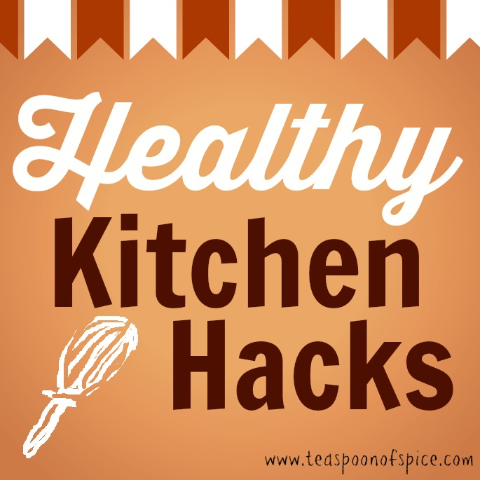 Weekly posts from TeaspoonofSpice.com of our & our favorite bloggers' shortcuts and tricks to healthy cooking.