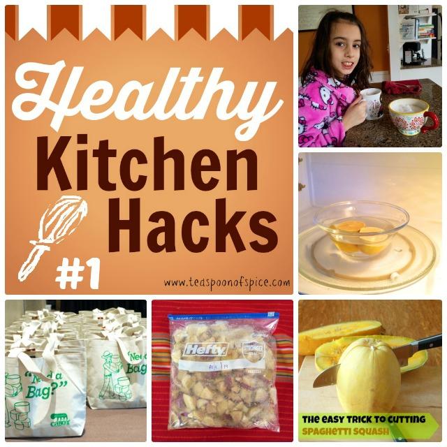 Healthy Kitchen Hacks #1   Teaspoonofspice.com