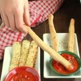 Baked Mozzarella Sticks   TeaspoonOfSpice.com