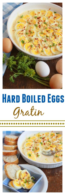 Hard Boiled Eggs Gratin | TeaspoonOfSpice.com