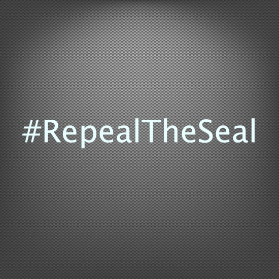 #repealtheseal