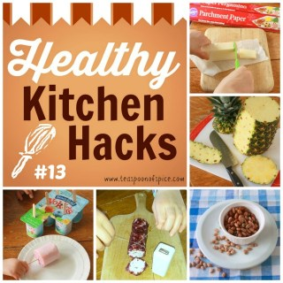 #HealthyKitchenHacks: Secret to Cutting & Storing Cheese, How to Best Cut a Pineapple, Easiest Way to Cook Dried Beans, Use Dental Floss to Cut Soft Cheese and More, 1-Ingredient Frozen Yogurt Pops