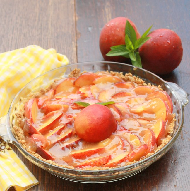 Fresh Easy Peach Pie