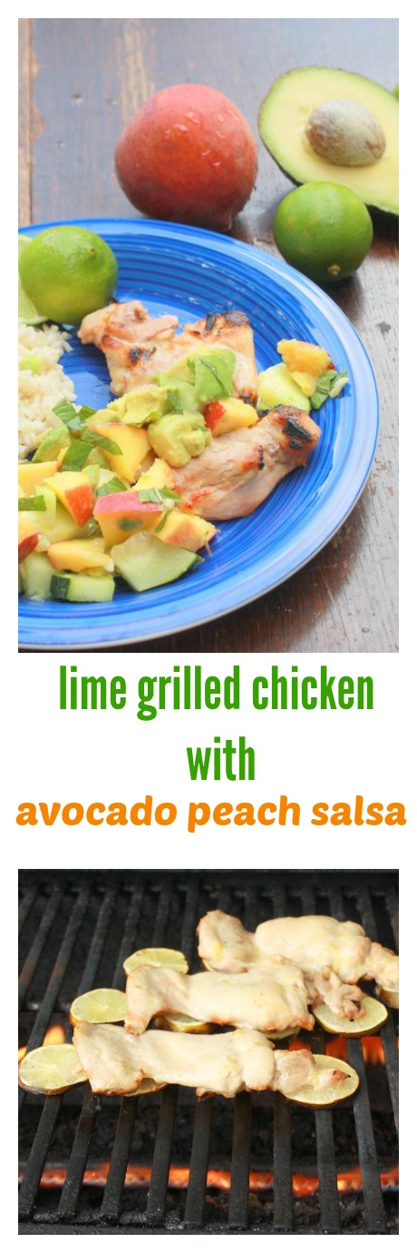 The easy trick for: How to Grill Chicken on Limes | TeaspoonOfSpice.com