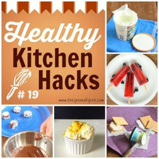 #HealthyKitchenHacks: How to prevent freezer burn on ice cream, What to do with leftover wine, how to portion control ice cream sandwiches, how to make ice cream without an Ice cream maker, mess free chocolate dipping