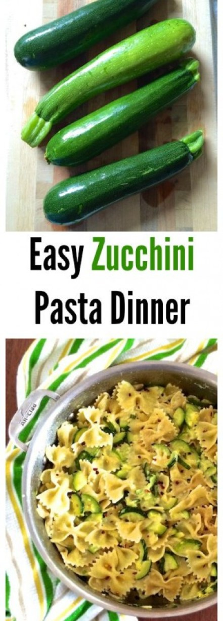 This summer pasta dish is a delicious, nutritious and easy way to use up your extra zucchini. | Teaspoonofspice.com