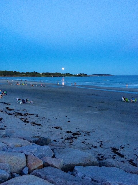 2015 Cabot Fit Team - Blue moon at Higgins Beach