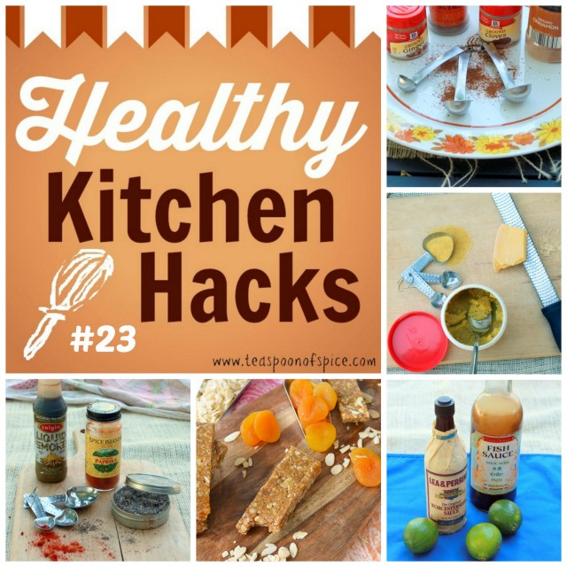 Healthy Kitchen Hacks - Ingredient Substitutions