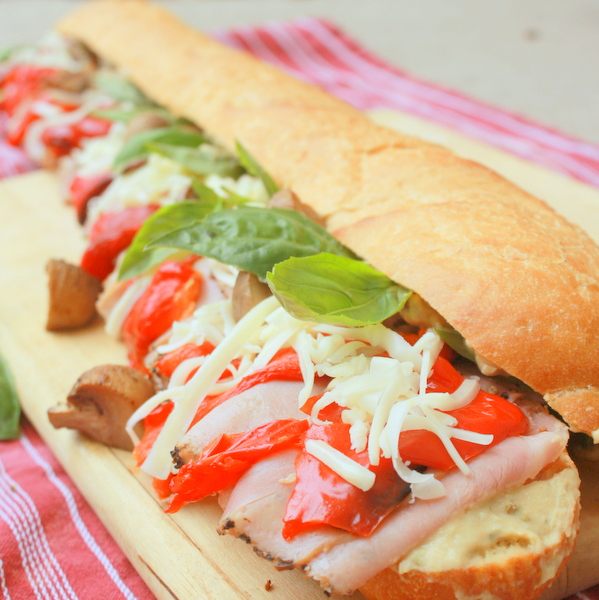 Pizza Sub Sandwich | Healthy Hoagie | Tailgating Menu @tspcurry