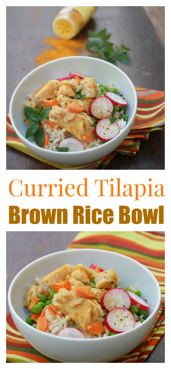 Spice up your rice bowl with Indian curry, mint and fresh veggies #AD| @TspCurry