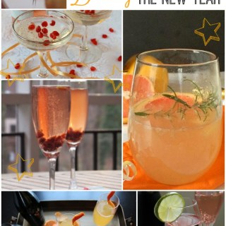 Whatever sparkling drink you like best, there's a cocktail or mocktail recipe for you on New Year's Eve!