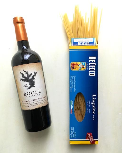 Healthy Kitchen Hacks: Cooking Pasta In Red Wine @tspbasil