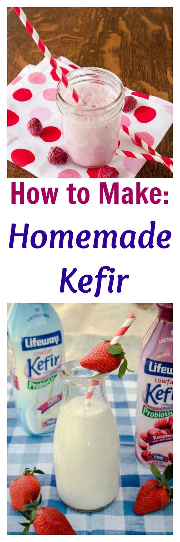 How to Make Homemade Kefir - LOW SUGAR | @tspcurry probiotics fermentation