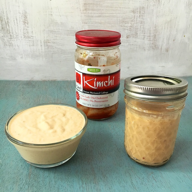 """Healthy Kitchen Hacks -Only 2 ingredient in this """"good for your gut"""" dressing or dip @tspbasil"""
