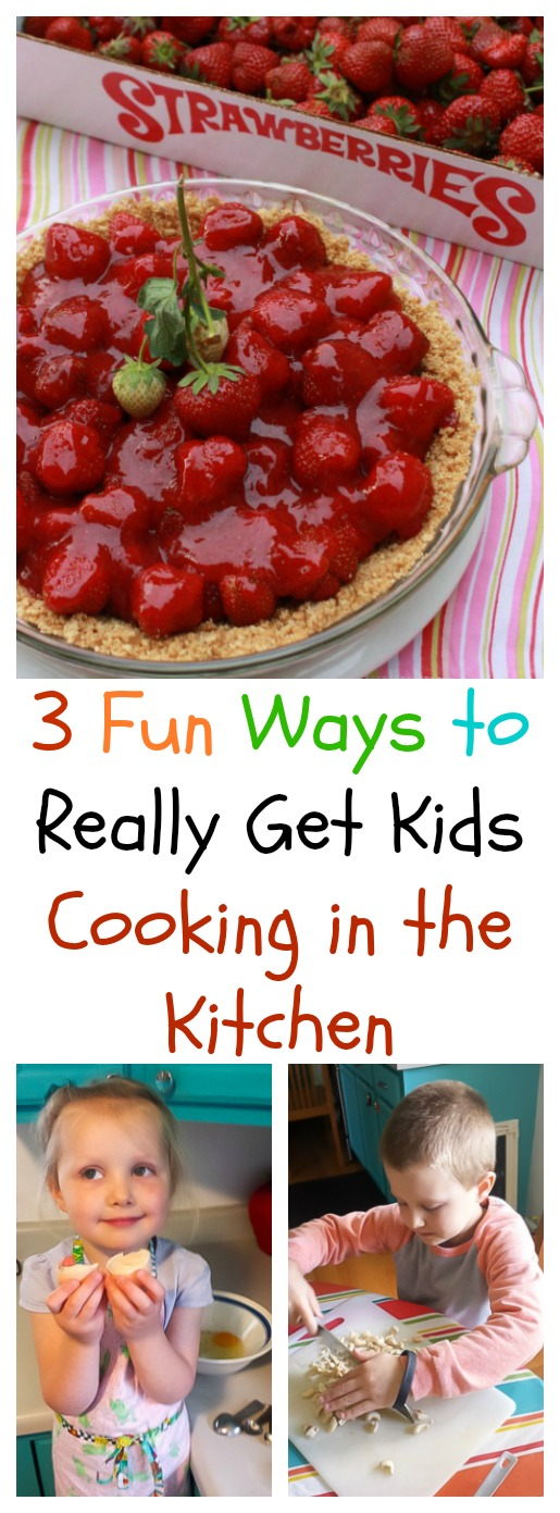 Ever let your kids create a new recipe from scratch? 3 Ways to Get Kids in the Kitchen | @Tspcurry