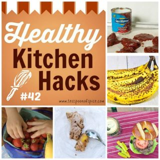 #HealthyKitchenHacks - New Ideas for Brown Bananas * Juicy Lean Beef Burgers * Get Kids to Eat Healthy * Easiest Way to Peel Fresh Ginger * Leftover Chipotle Chilies Recipes | @TspCurry