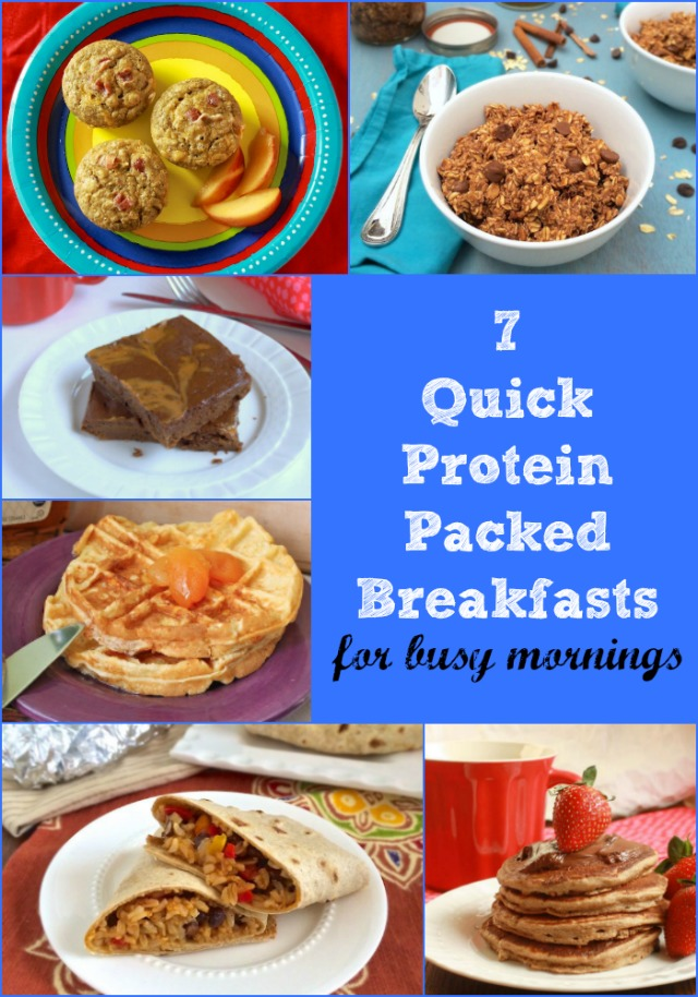 For your busy weekday mornings, 7 Quick Protein Packed Breakfast Recipes [sponsored]