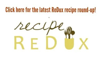 Recipe ReDux linky logo Peanut Butter and Jelly Bars