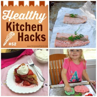 Healthy Kitchen Hacks 52: How to make Christmas Play Dough, Cook Fish Straight from Freezer, How to Keep Whipped Cream Stiff
