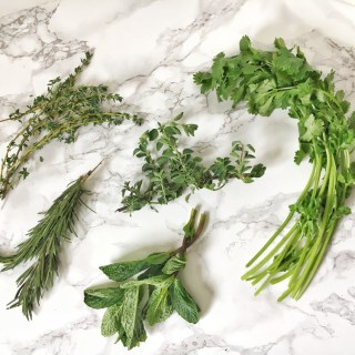 Don't let your leftover fresh herbs go to waste - 3 tips on how to use up all of your fresh herbs. More Healthy Kitchen Hacks on Teaspoonofspice.com