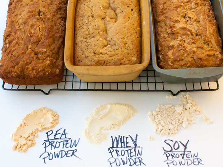 WHICH PROTEIN POWDER IS BEST TO BAKE WITH? #HealthyKitchenHacks | @TspCurry - TeaspoonOfSpice.com