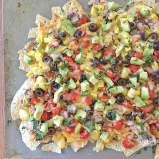 """Rise and Shine"" Summer Squash Nachos"