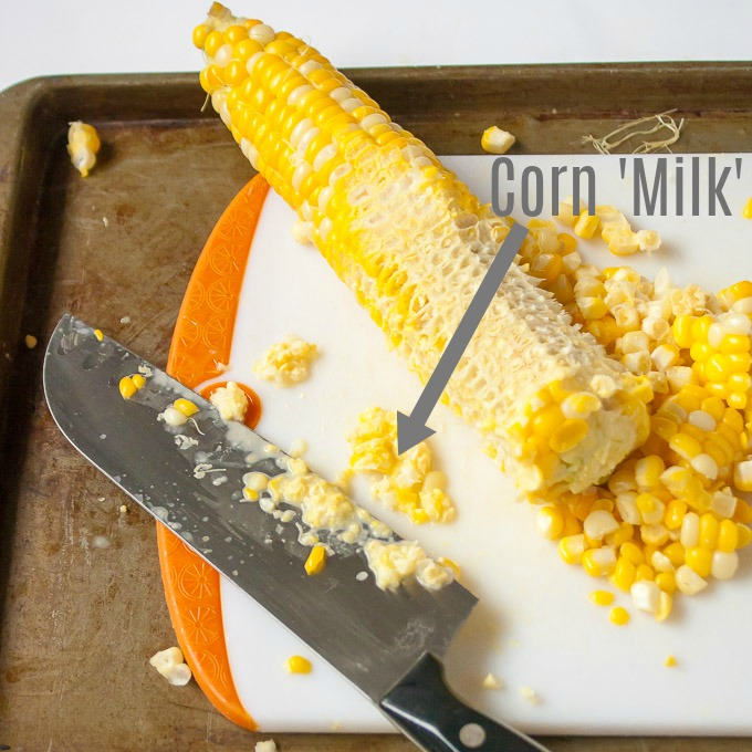 HOW TO CUT CORN OFF THE COB   @TspCurry