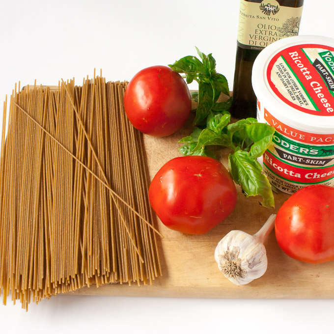 No Drain Pasta for One Pot Dinner | @TspCurry