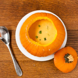 How to Cook a Whole Pumpkin | @TspCurry