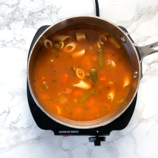 Add instant flavor to your canned soup with one of these 3 ingredient ideas - check out this Healthy Kitchen Hack at Teaspoonofspice.com #soups #souprecipes #kitchenhacks