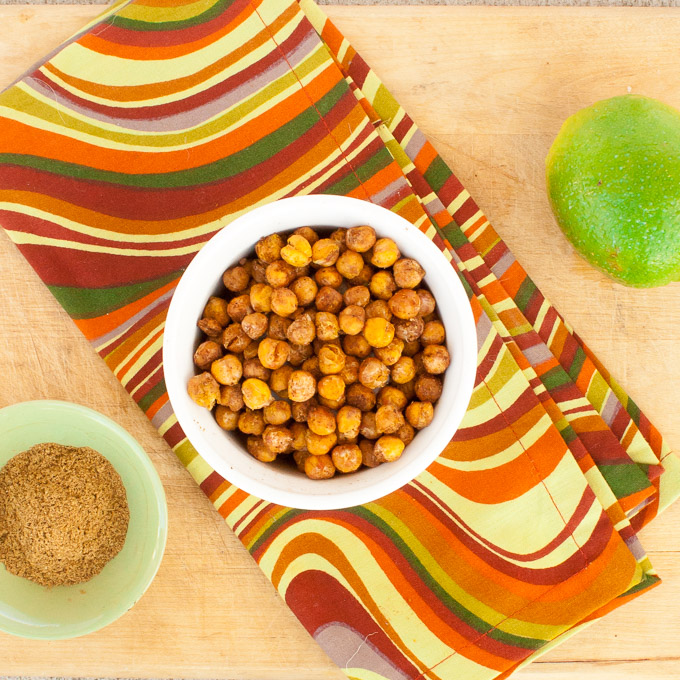 The Ultimate Crispy Chickpea Snacks | @TspCurry