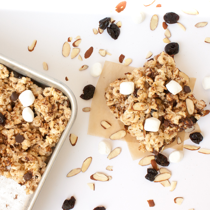 Better Rice Crispy Treats | @TspCurry