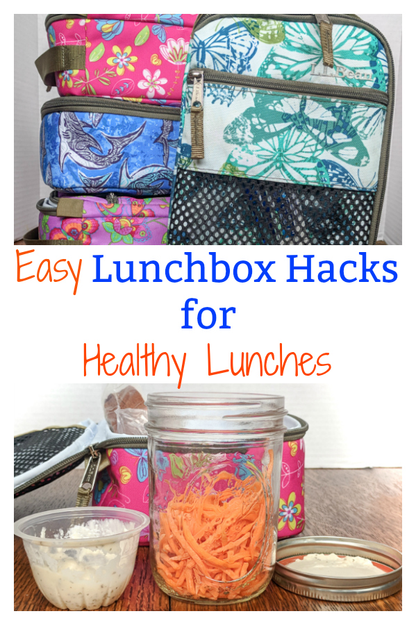 Easy new Lunchbox Hacks to make healthy lunches that are yummy, even after sitting in a lunchbox for hours! via @https://www.pinterest.com/tspcurry/