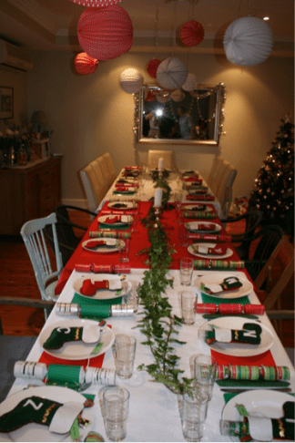 xmas 2011 long table