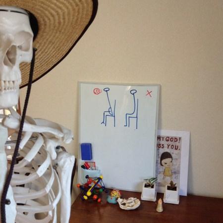 骨盤と下肢略図