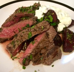 Steak and Beets
