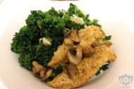 Chicken & Mushrooms w/ Kale