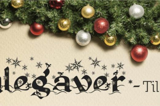 julegaver til ham, julegaver til hende, julegaver til børn, julegaver til far, julegaver til mor