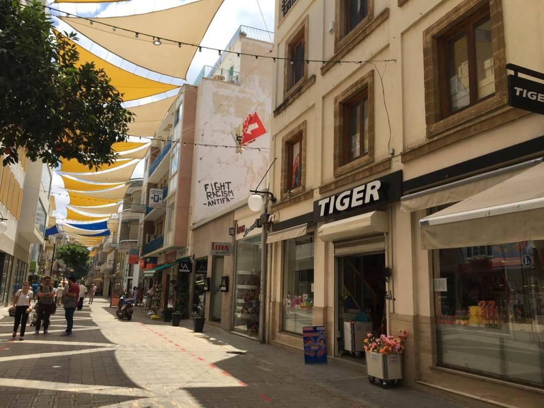 cypern, nordcypern, green line, grænsen mellem tyrkiet og grækenland, blog om cypern, græske side af cypern, tiger på cypern, cyprus, south cyprus
