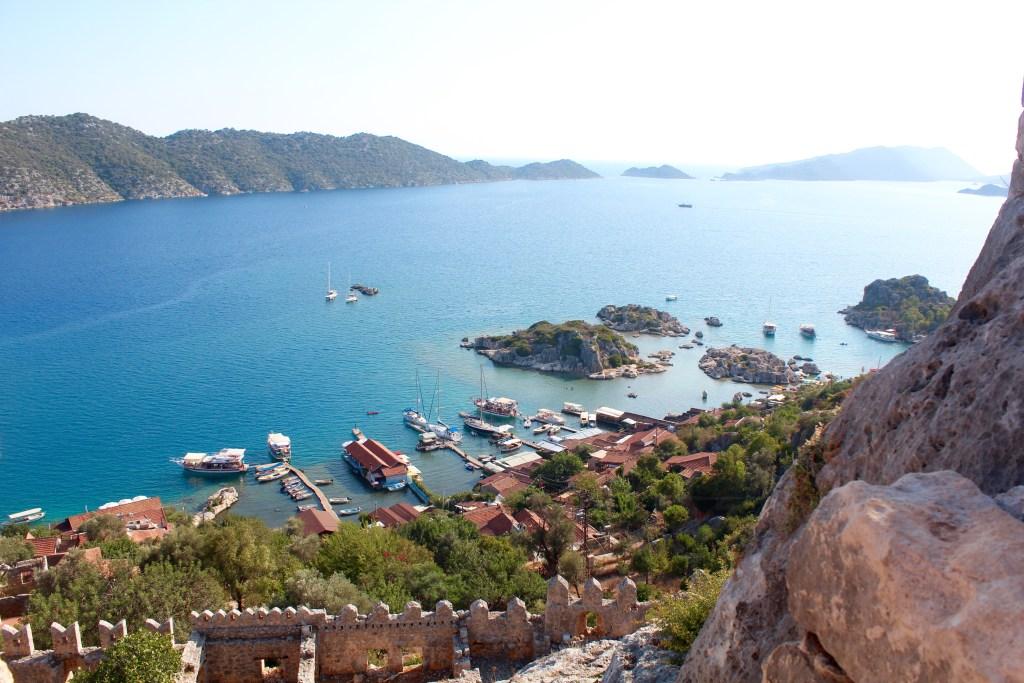unikke steder i Tyrkiet, kekova, den sunkne by, de smukkeste steder i Tyrkiet, smukke Tyrkiet, bådtur i Tyrkiet