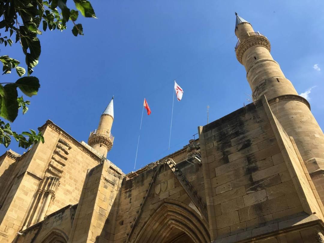 1. St. Sophia katedralen, Selimiye moskeen, seværdigheder i nicosia, nicosia seværdigheder, nordcypern seværdigheder, seværdigheder nordcypern.