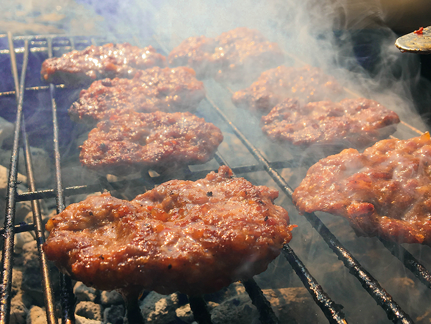 tyrkisk mangal, mangal, tyrkisk skovtur, tyrkisk mad,