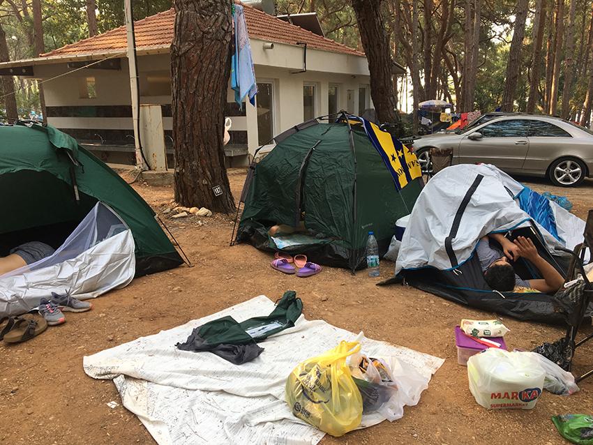Alanya camping, camping i alanya, rejseblog, camping rejseblog