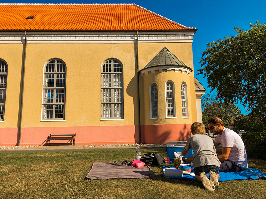 Skagen kirke, kirke i Skagen, morgenmad i Skagen, ferie i Skagen, gratis oplevelser i Skagen