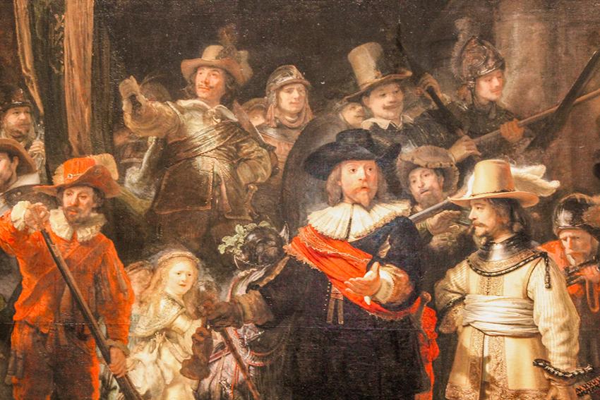 Rembrandt night watch, Rijksmuseum, Museer i Amsterdam, seværdigheder i amsterdam, seværdigheder i Holland, kunstmuseer i amsterdam, Rijksmuseum, sjove fakta om amsterdam, sjove fakta om holland, oplevelser i amsterdam, hvad kan man lave i Amsterdam