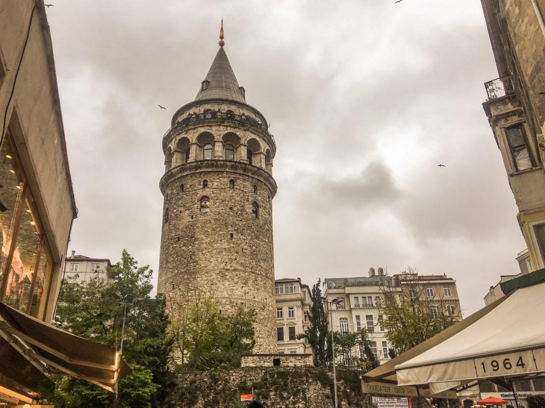 galata tårnet, tårn i istanbul, den første mand der fløj, tyrkiske seværdigheder, fakta om Tyrkiet