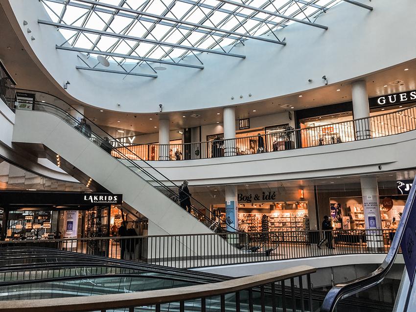 Shopping i Århus, Århus shopping, Seværdigheder i Århus, Århus seværdigheder, Bruuns galleri Århus,