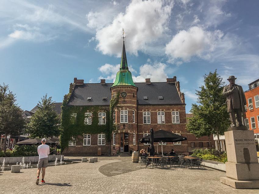 Silkeborg torv, Torvet i Silkeborg, Drewsens, Drewsens i Silkeborg, Seværdigheder i Silkeborg, Silkeborg Seværdigheder, oplevelser i Silkeborg