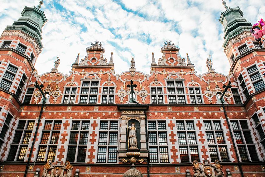the great armoury, historiske bygninger i Gdansk, oplevelser i Gdansk